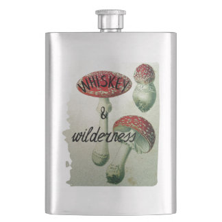 Whiskey & Wilderness Toadstool Hip Flask