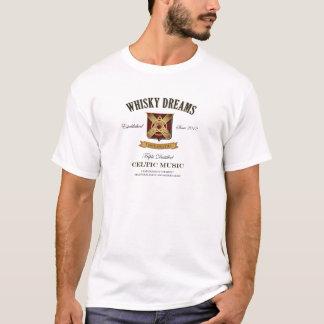 Whisky Dreams 'Label' Logo T-Shirt