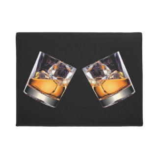 Whisky on the Rocks Doormat