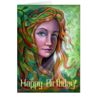 Whisper Birthday Card