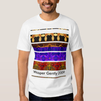 Whisper Gently official 2009 shirt