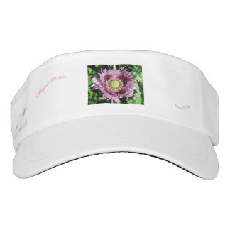 Whisper it to me....pink poppy Camino St.Croix Visor