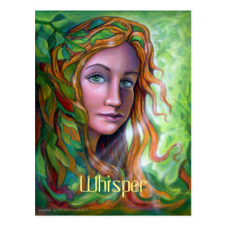 Whisper postcard by Mike Winterbauer