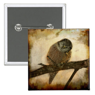 Whispered in the sounds of silence 15 cm square badge