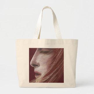 whispered wish large tote bag