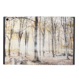 Whispering woodland in autumn fall iPad air case