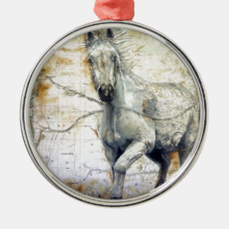 Whispers Across the Steppe Christmas Ornament