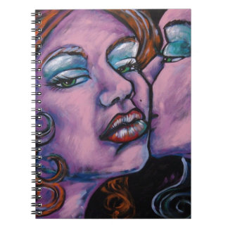 WHISPERS SPIRAL NOTE BOOK