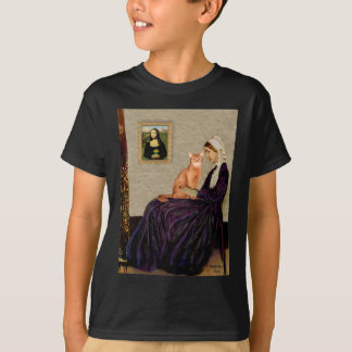 Whisterls Mother - Red Abyssinian T-Shirt
