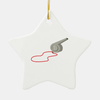 Whistle Ornament