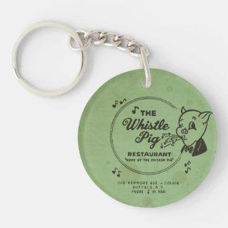 Whistle Pig Restaurant Key Ring