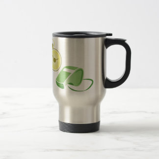 Whistle & Stopwatch Stainless Steel Travel Mug