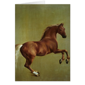 Whistlejacket, 1762 card