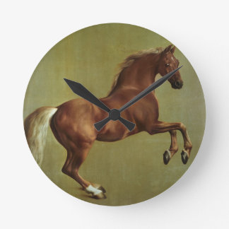 Whistlejacket, 1762 round clock