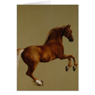 Whistlejacket Race Horse by George Stubbs Card