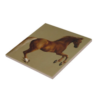 Whistlejacket Race Horse by George Stubbs Small Square Tile