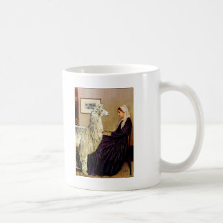 Whistler's Mother's Llama Coffee Mug