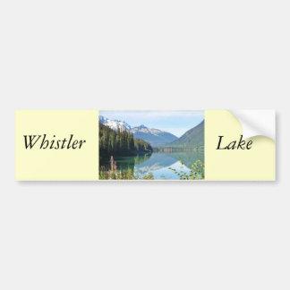 Whistler Lake Bumper Sticker