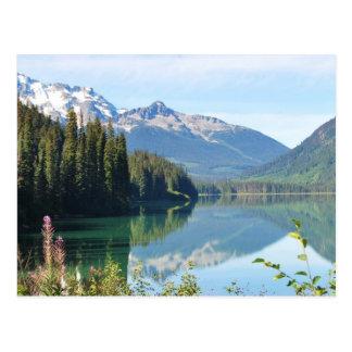 Whistler Lake Postcard