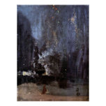 WHISTLER-NIGHT IN BLACK and GOLD-PRINT-SUPER SIZE