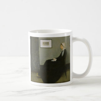 Whistler's Mother by James Abbot McNeill Whistler Coffee Mug