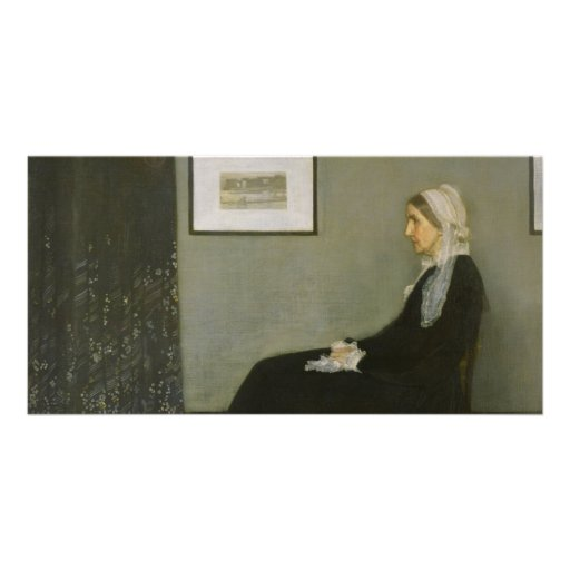 Whistler's Mother by James Abbot McNeill Whistler Photo Cards