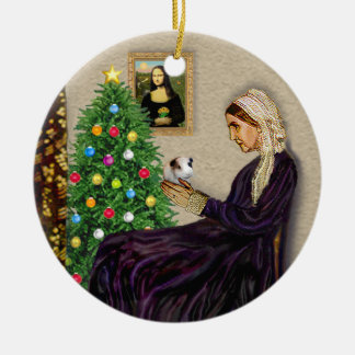 Whistlers Mother & her Guinea Pig Christmas Ornament