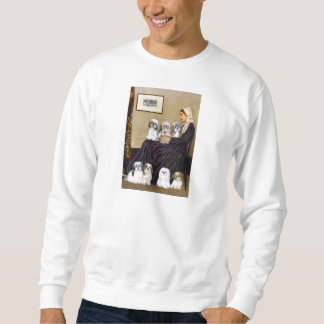Whistlers Mother -  Shih Tzus (seven) Sweatshirt