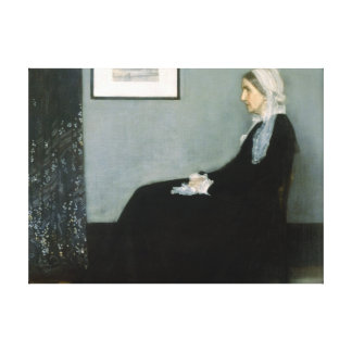 Whistler's Mother - Stretched Canvas Reproduction Canvas Print