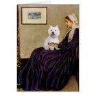 Whistlers Mother - Westie 2 Card