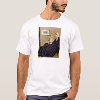 Whistlers Mother - Wire Fox Terrier #4 T-Shirt