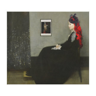Whistler's Vampire Painting Stretched Canvas Prints