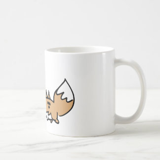Whistling Fox Basic White Mug