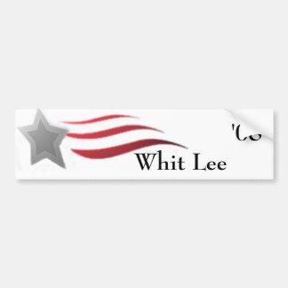 Whit Lee for President Bumper Sticker
