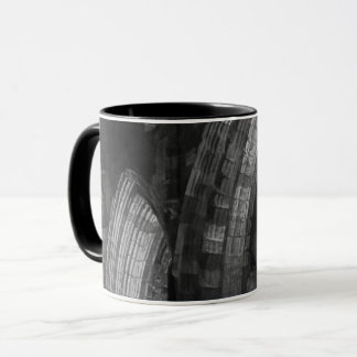 Whitby Abbey arches old ruin Mug