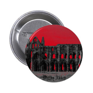 Whitby Abbey 6 Cm Round Badge