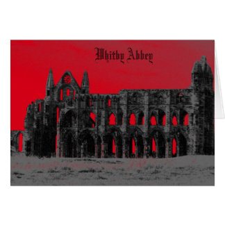 Whitby Abbey Card