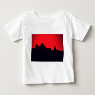 Whitby Abbey Goth Baby T-Shirt