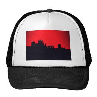Whitby Abbey Goth Trucker Hats