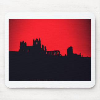 Whitby Abbey Goth Mouse Pads