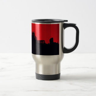 Whitby Abbey Goth Coffee Mugs