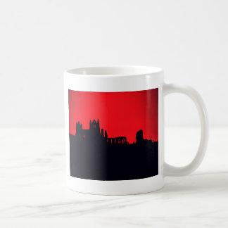 Whitby Abbey Goth Coffee Mug
