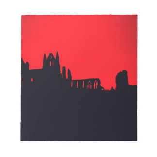 Whitby Abbey Goth Scratch Pad