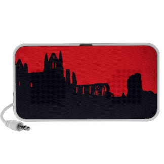 Whitby Abbey Goth Travelling Speaker