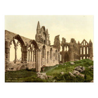 Whitby Abbey I, Whitby, Yorkshire, England Postcard