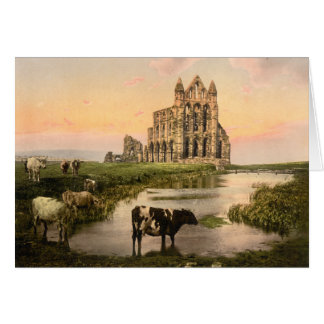 Whitby Abbey III, Whitby, Yorkshire, England Card