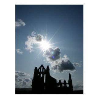 Whitby Abbey Postcard