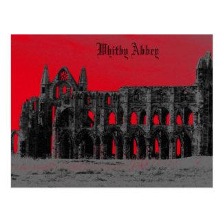 Whitby Abbey Postcard