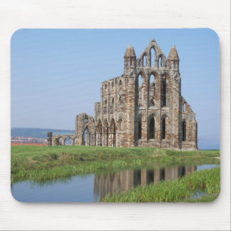 Whitby Abbey Whitby North Yorkshire England Mouse Mat