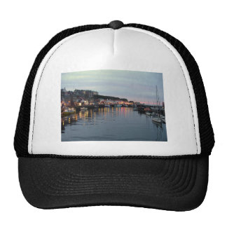 Whitby at dusk hat
